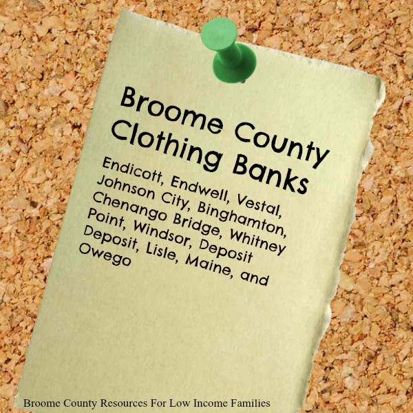Clothing Banks in Broom County NY