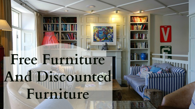 Free furniture and discounted furniture for low income families