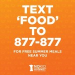 Text To Find Free Summer Meal Sites