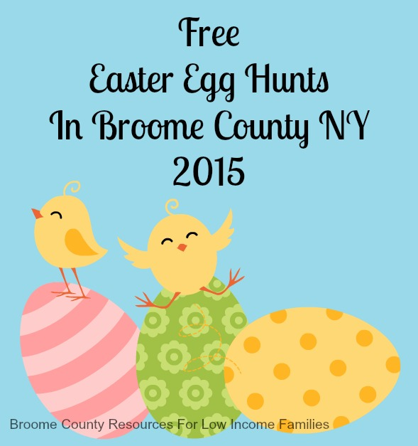 Free Easter Egg Hunts In Broome County NY