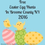 FREE Easter Egg Hunts in Broome County, NY 2016