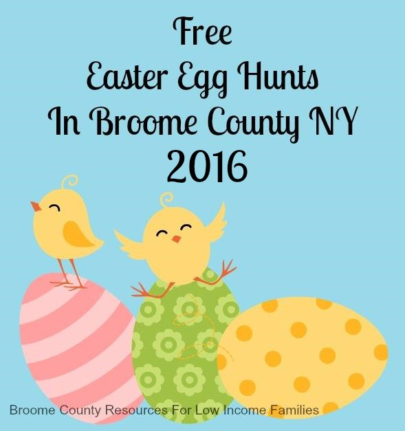 Free Easter Egg Hunts In Broome County Ny 2016 Broome County Resources For Low Income Families