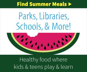 Find Free Summer Meals